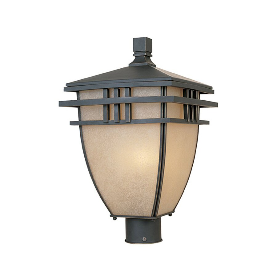 Designer's Fountain Dayton 18-in H Aged Bronze Patina Post Light