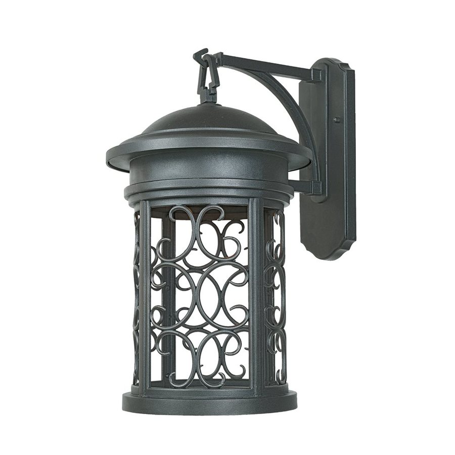 Designer's Fountain Ellington 20-in H Oil Rubbed Bronze  Dark Sky Medium Base (E-26) Outdoor Wall Light
