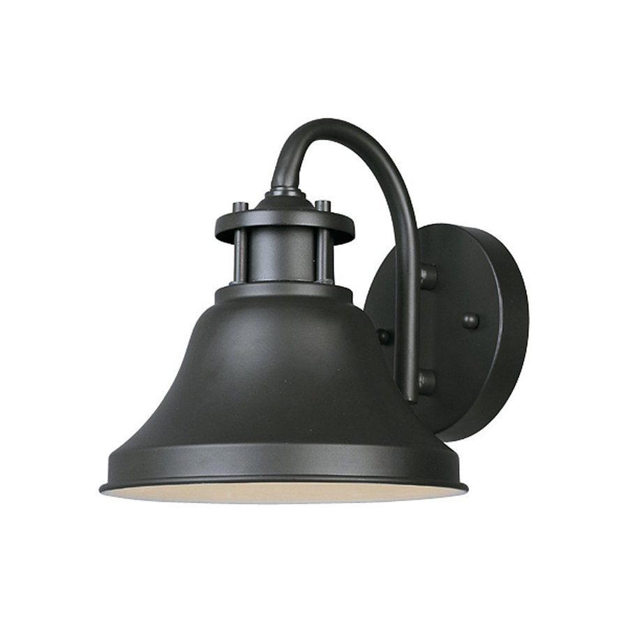 Shop designer 39 s fountain bayport h bronze dark sky for Outdoor porch light fixtures