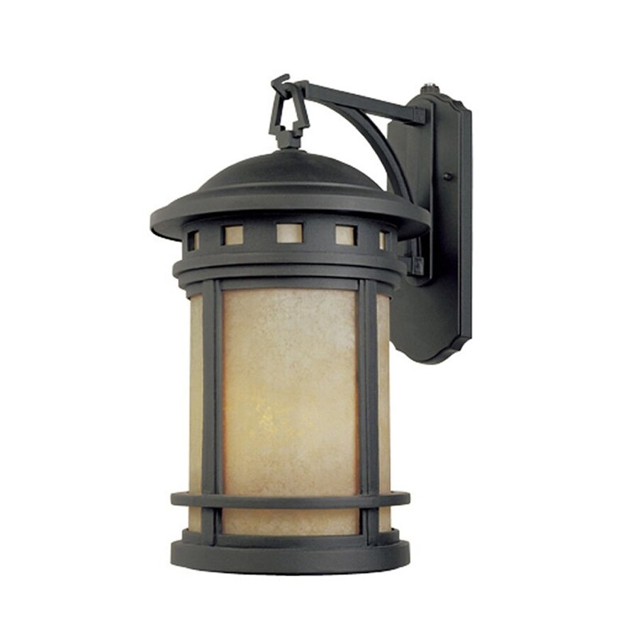 Designer's Fountain Sedona 13-in H Oil Rubbed Bronze  Gu24 Outdoor Wall Light ENERGY STAR