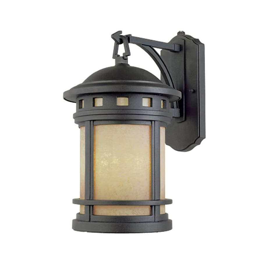 Designer's Fountain Sedona 16.5-in H Oil Rubbed Bronze Outdoor Wall Light
