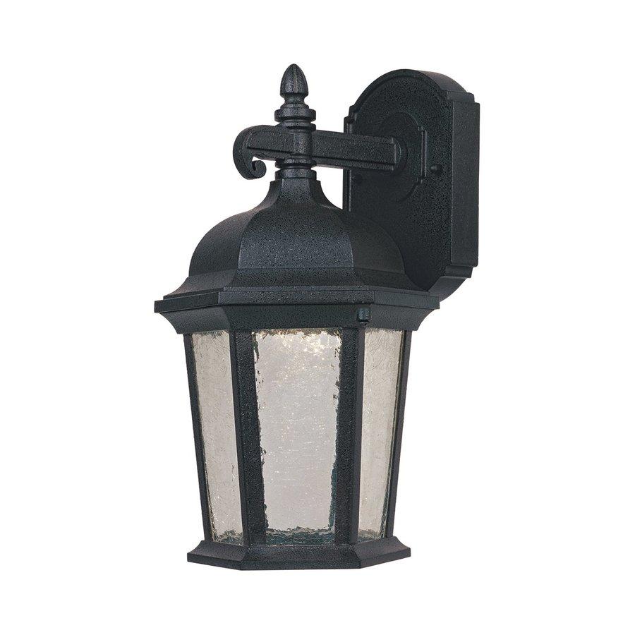 Designer's Fountain Abbington 14-in H Driftwood  Led Outdoor Wall Light ENERGY STAR