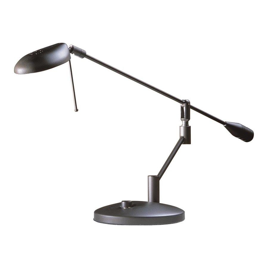 Kendal Lighting 8 In Adjule Oil Rubbed Bronze Desk Lamp With Metal Shade