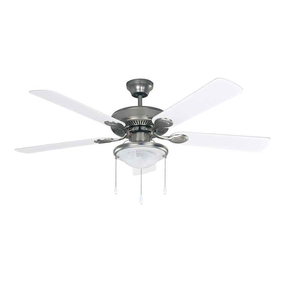 Canarm Kincade 52 In Brushed Pewter Ceiling Fan With Light Kit