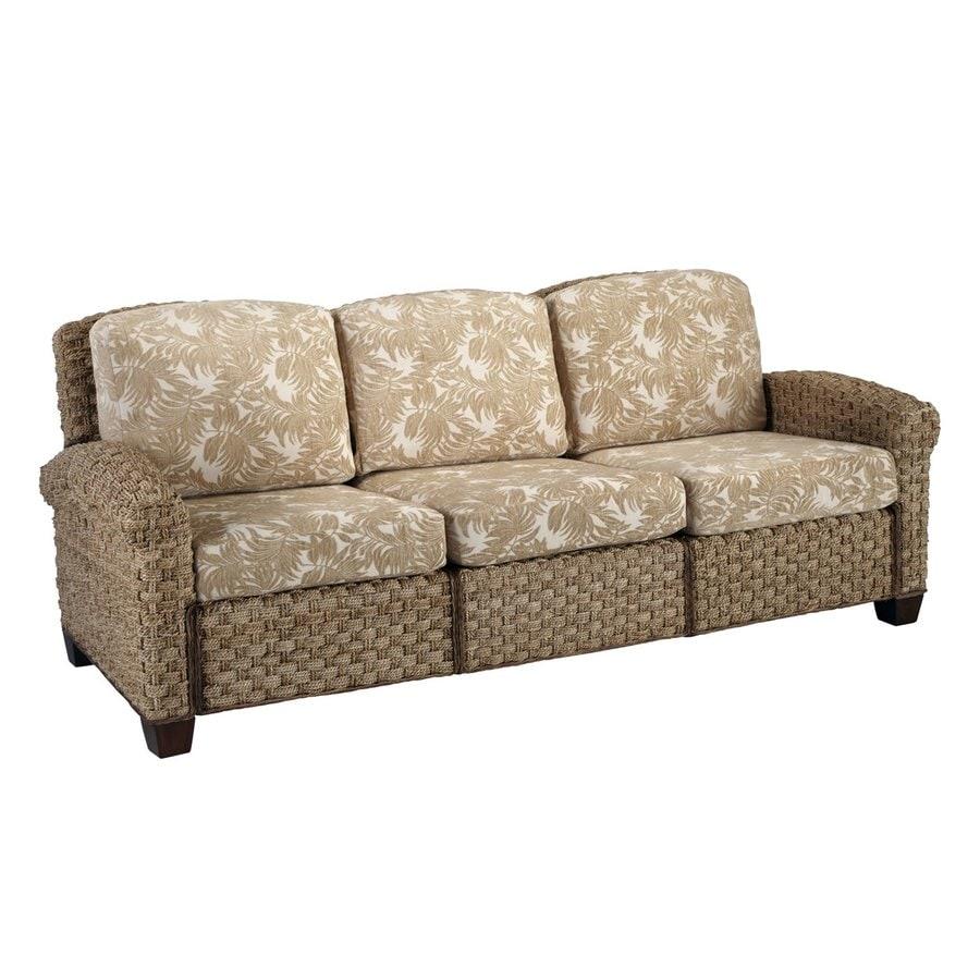 Home Styles Cabana Banana II Honey Textured Cotton Sofa