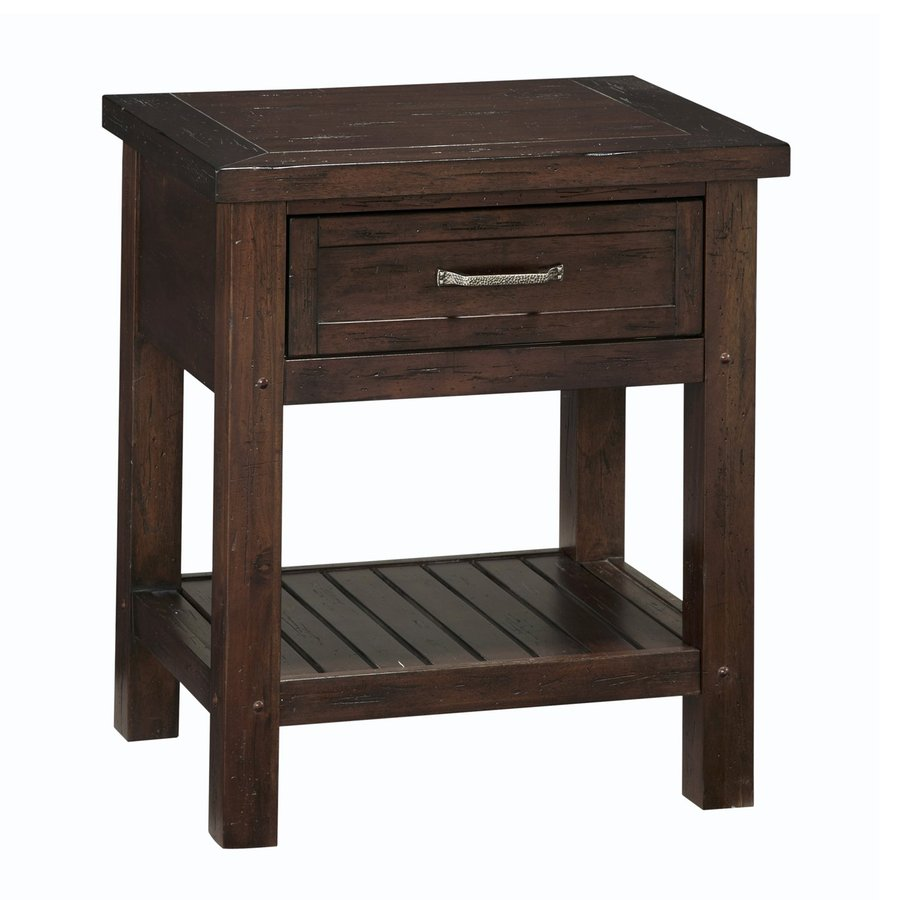 High Quality Home Styles Cabin Creek Chestnut Mahogany Nightstand