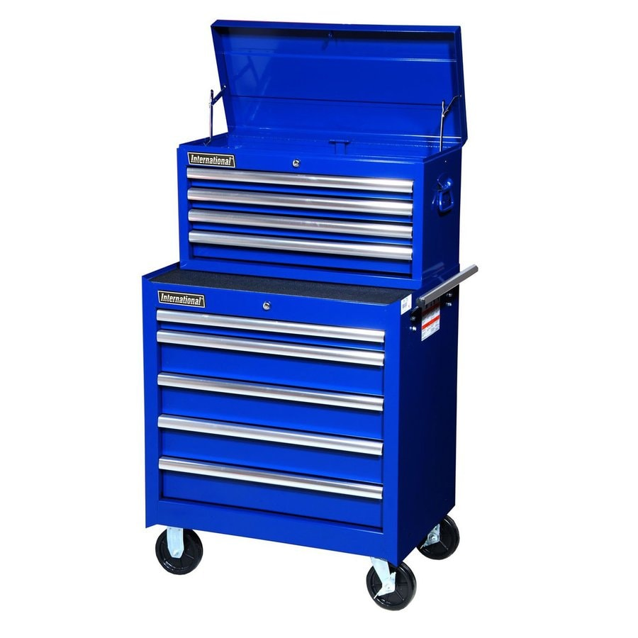 Shop International Tool Storage 9-Drawer Ball-Bearing Steel Tool ...