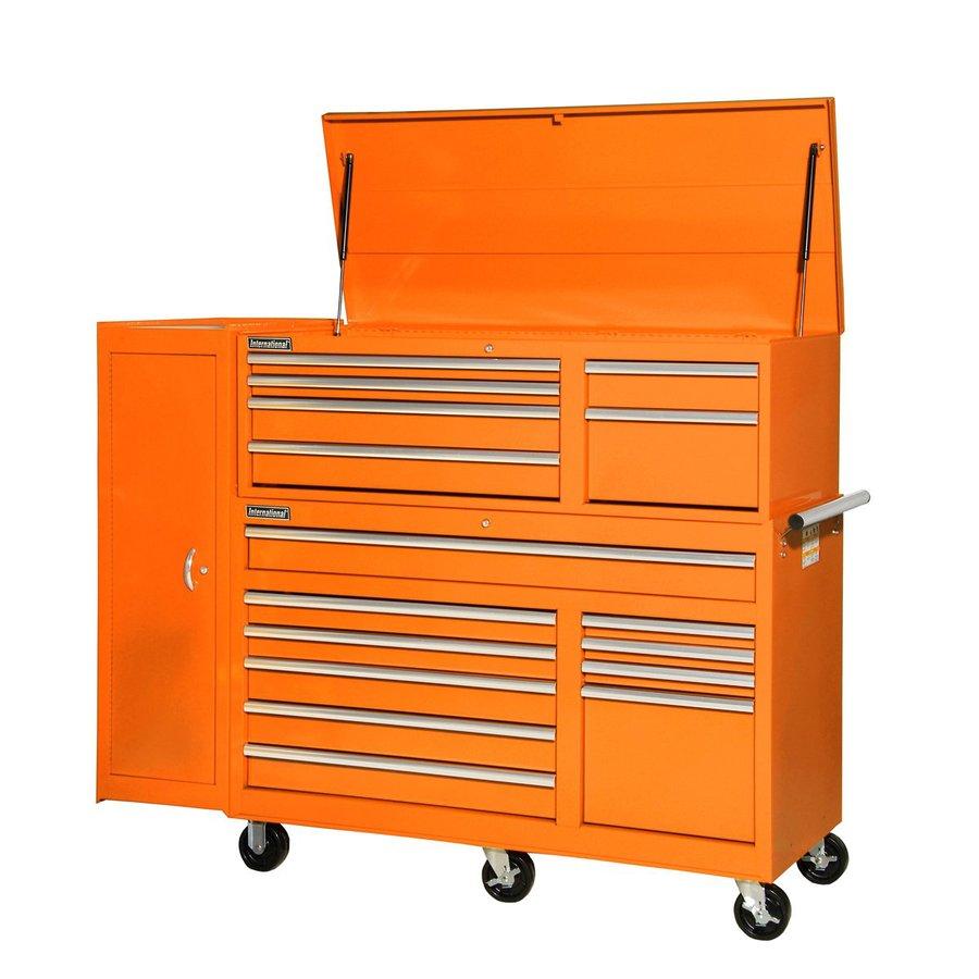 Kitchen cabinet slides lowes - Shop International Tool Storage 16 Drawer Ball Bearing
