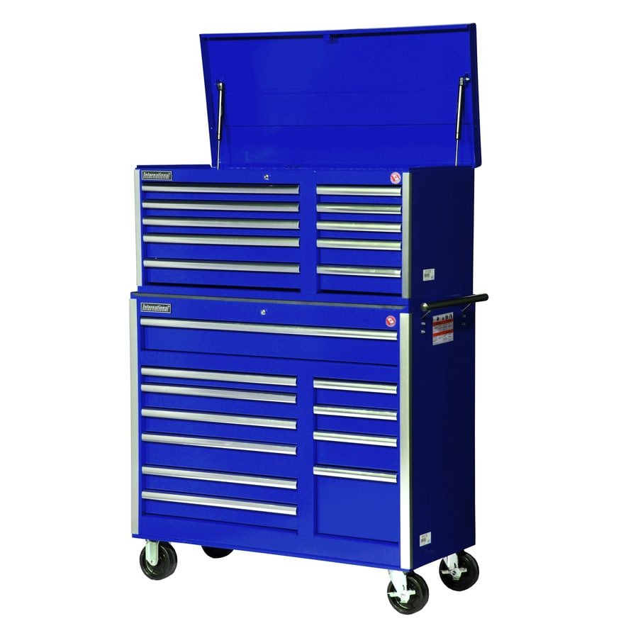 International Tool Storage 42 In W X 56.375 In H 21 Drawer Ball