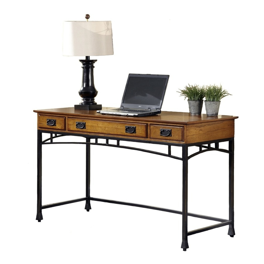 Shop home styles modern craftsman transitional executive for Craftsman style desk plans