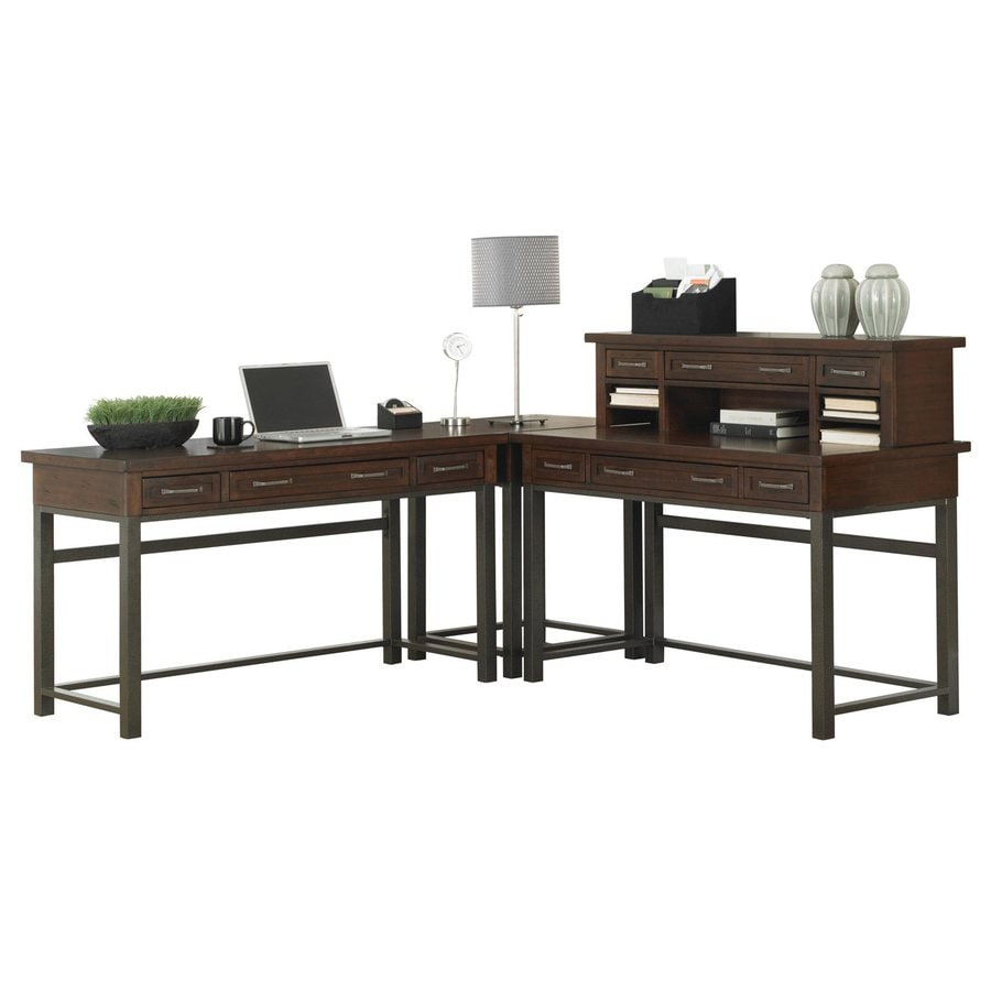 Home Styles Cabin Creek Casual L-Shaped Desk