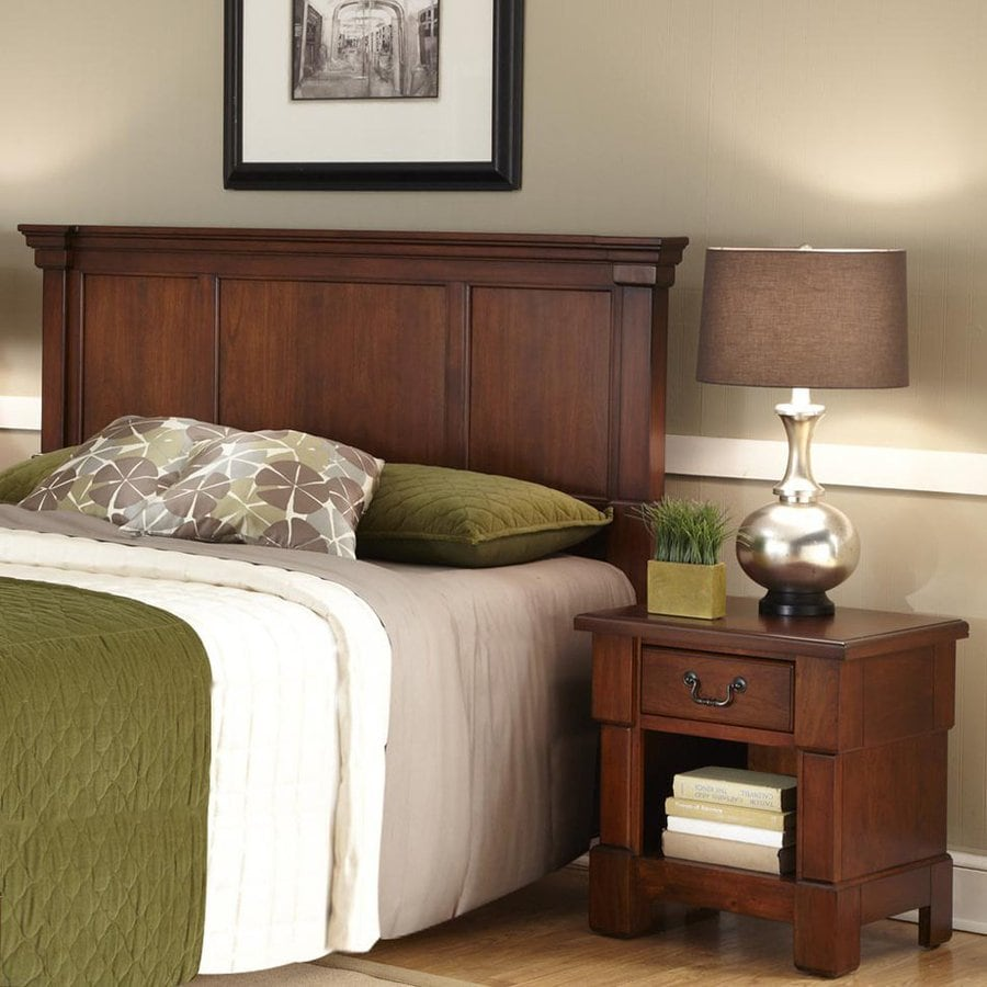Home Styles Aspen Rustic Cherry Full/Queen Bedroom Set