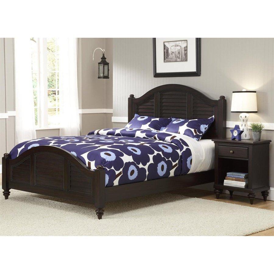 Home Styles Bermuda Espresso Queen Panel Bed