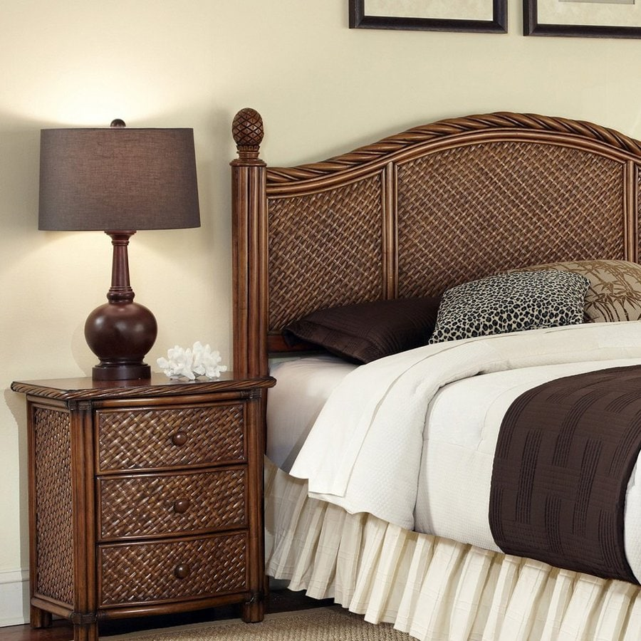 Shop home styles marco island cinnamon king bedroom set at for Bedroom furniture 28117