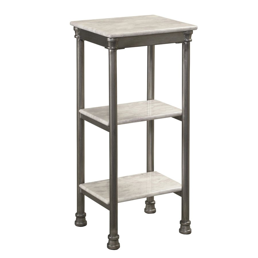 Home Styles 28-in H x 13-in W x 11-in D Freestanding Shelving Unit