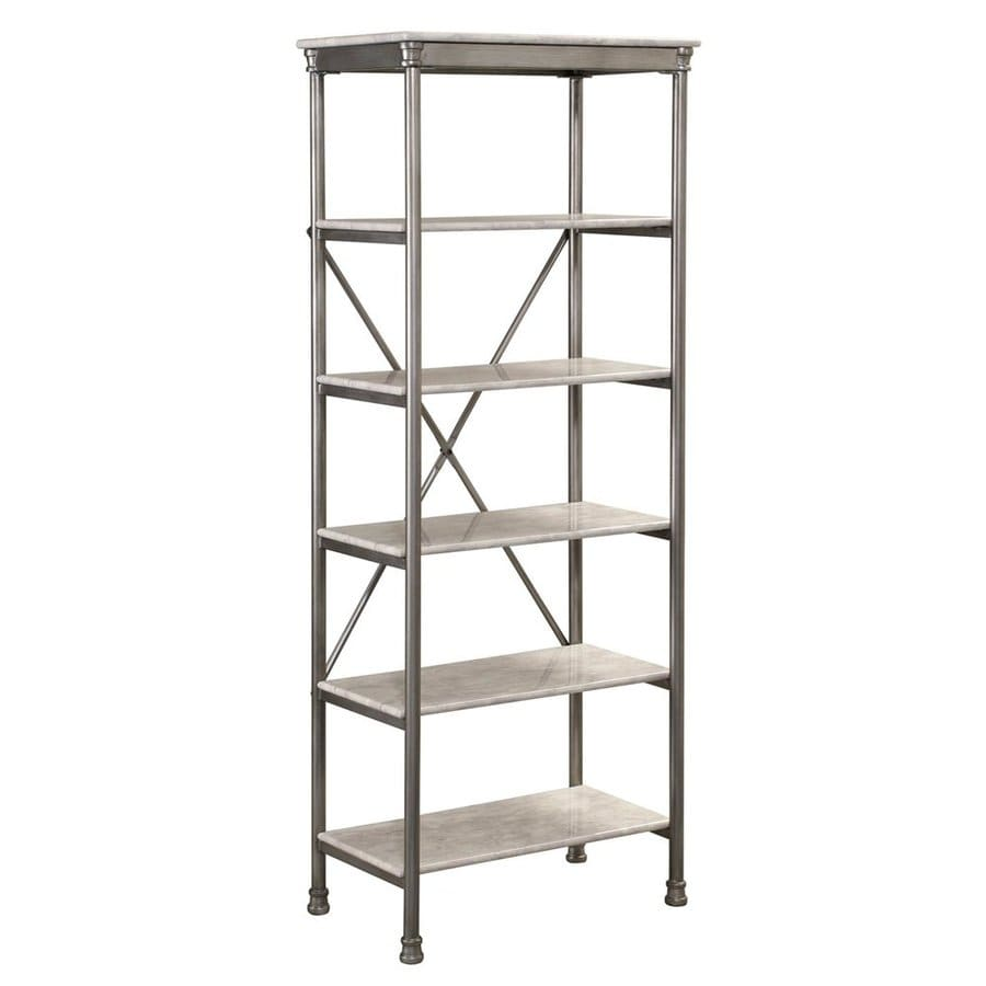 Shop Home Styles 60-in H x 24-in W x 14-in D Steel Freestanding ...