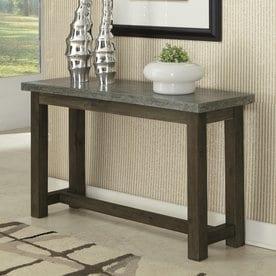 Home Styles Concrete Molded Concrete Stone Coastal Console Table & Shop Console Tables at Lowes.com