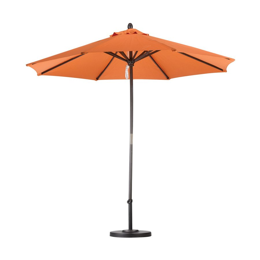 California Umbrella Tuscan Market Patio Umbrella (Common: 9-ft W x 9-ft L; Actual: 9-ft W x 9-ft L)