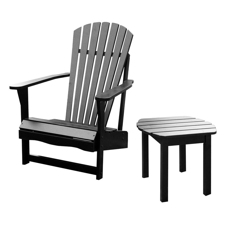 International Concepts Acacia Adirondack Chair With Slat Seat