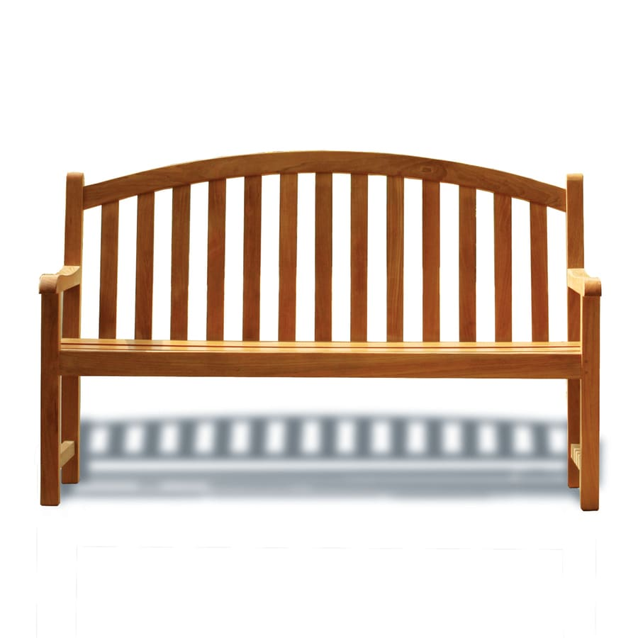 Three Birds Casual Victoria 25.5-in W x 60-in L Teak Patio Bench