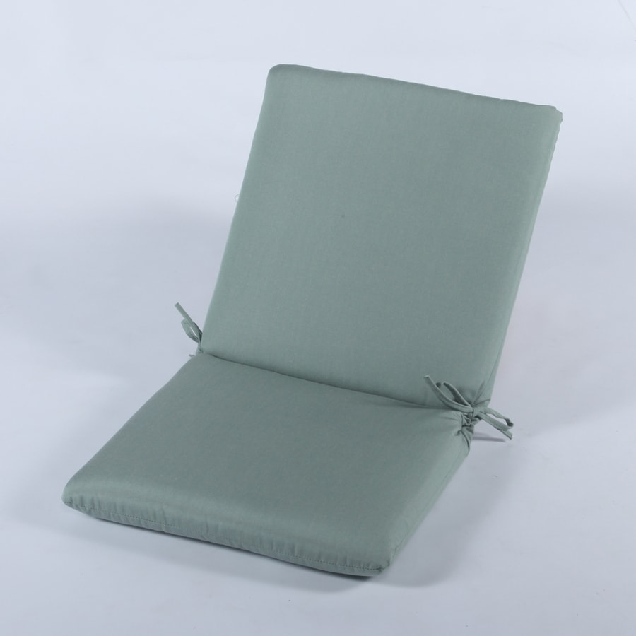 Casual Cushion Canvas Spa Solid Cushion For High-Back Chair