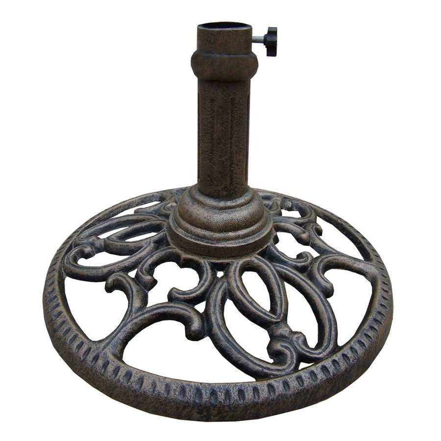 Oakland Living Mississippi Antique Bronze Patio Umbrella Base