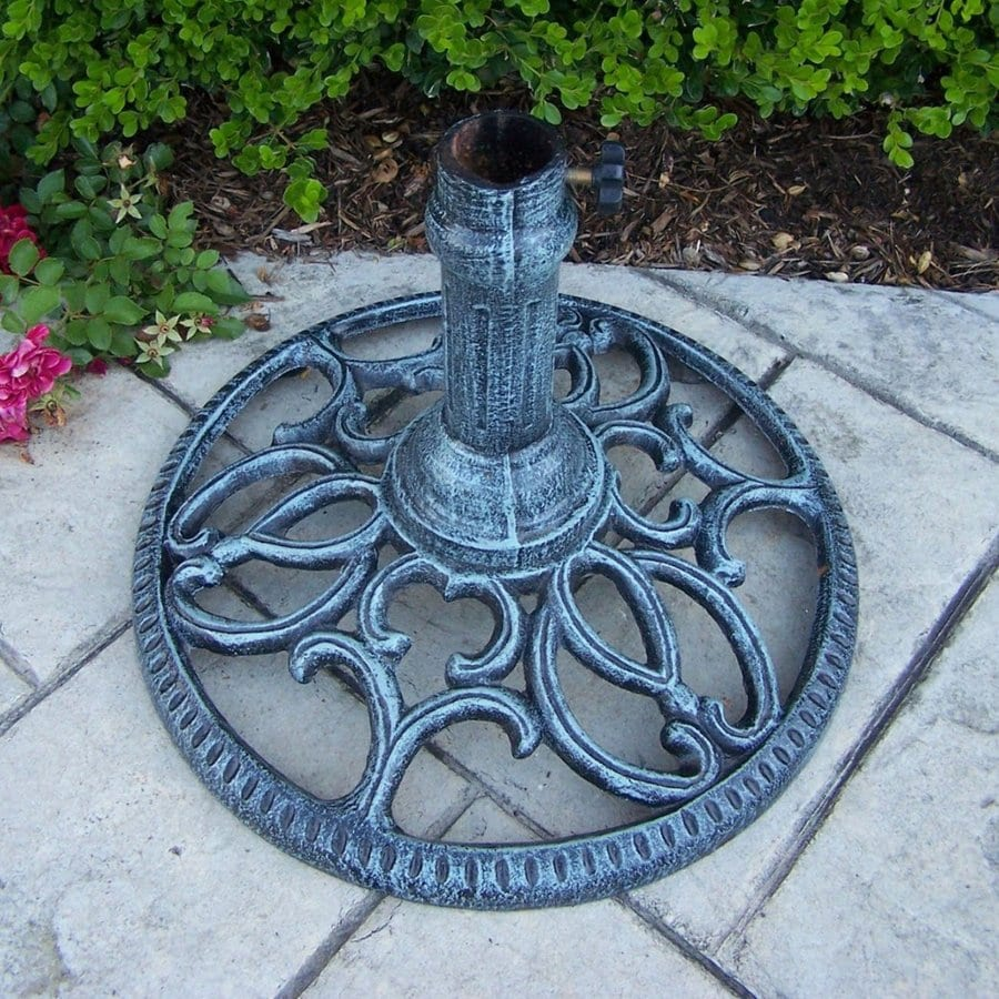 Oakland Living Mississippi Verdi Grey Patio Umbrella Base