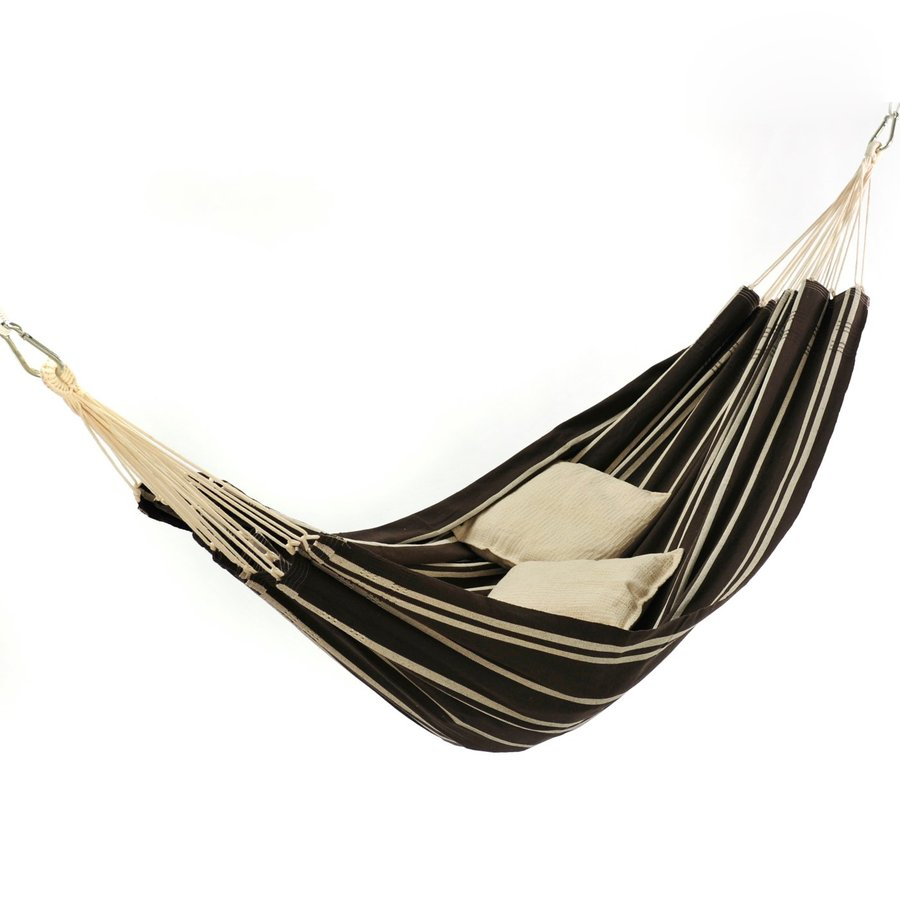 Byer of Maine Amazonas Barbados Mocha Fabric Hammock