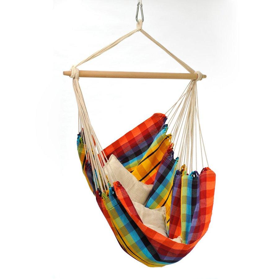 Byer of Maine Amazonas Brazil Rainbow Fabric Hammock Chair
