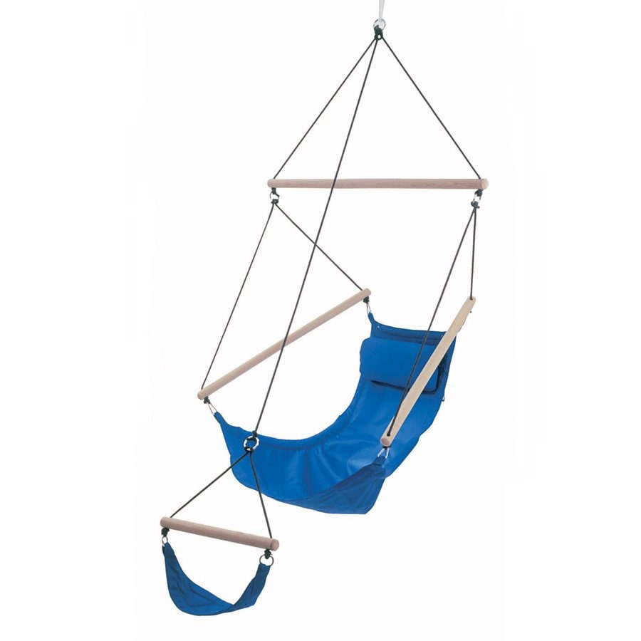 Byer of Maine Amazonas Swinger Royal Blue Fabric Hammock Chair