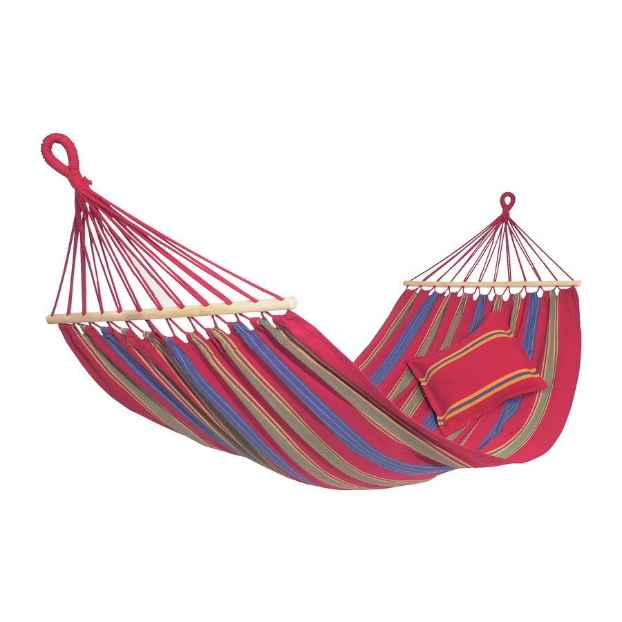 Byer of Maine Amazonas Aruba Cayenne Red Fabric Hammock
