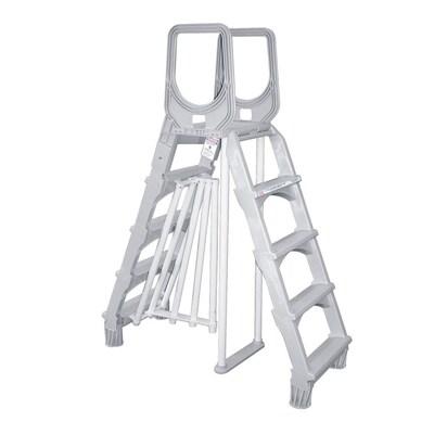 Awesome 54 In Resin A Frame Pool Ladder Creativecarmelina Interior Chair Design Creativecarmelinacom