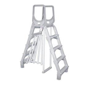 Shop Above Ground Pool Ladders Amp Steps At Lowes Com