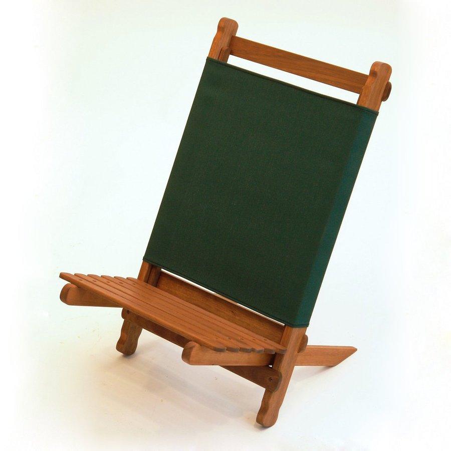 Byer of Maine Forest Green Keruing Folding Beach Chair