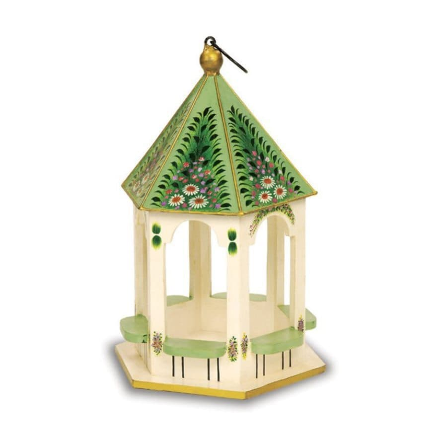 ACHLA Designs Wood Platform Bird Feeder