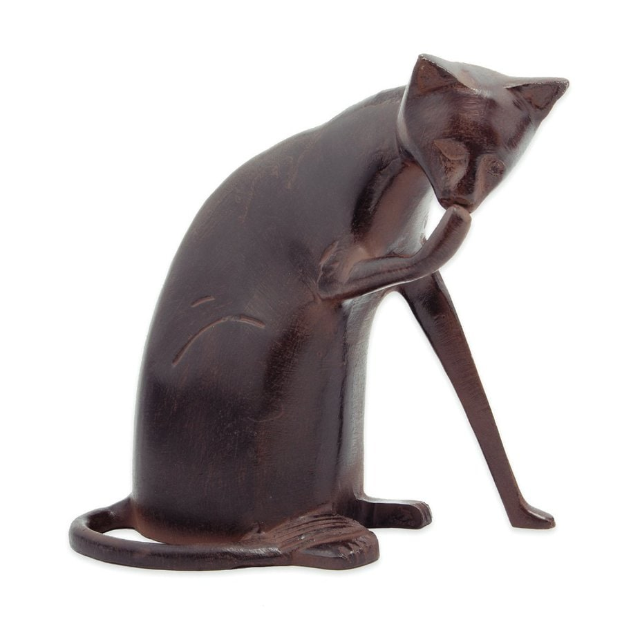 ACHLA Designs Coy Cat 8.5-in Animal Garden Statue