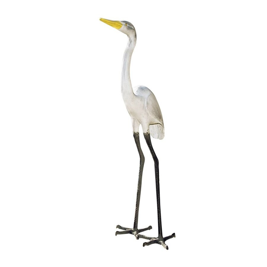 ACHLA Designs Great Egret 43-in Animal Garden Statue