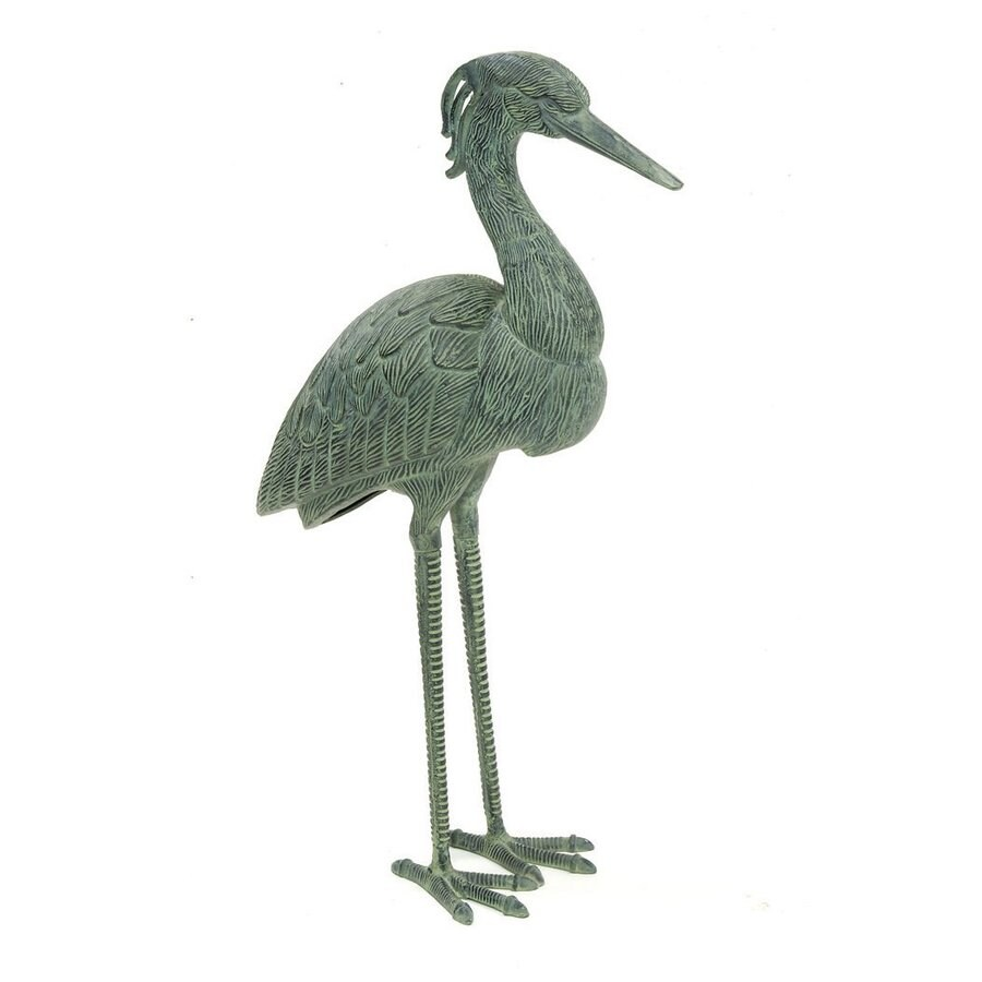ACHLA Designs Stately Blue Heron 31.5-in Animal Garden Statue