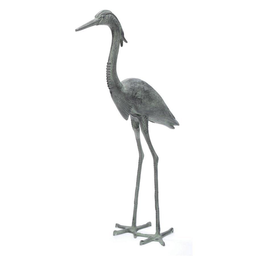 ACHLA Designs Great Blue Heron 43-in Animal Garden Statue