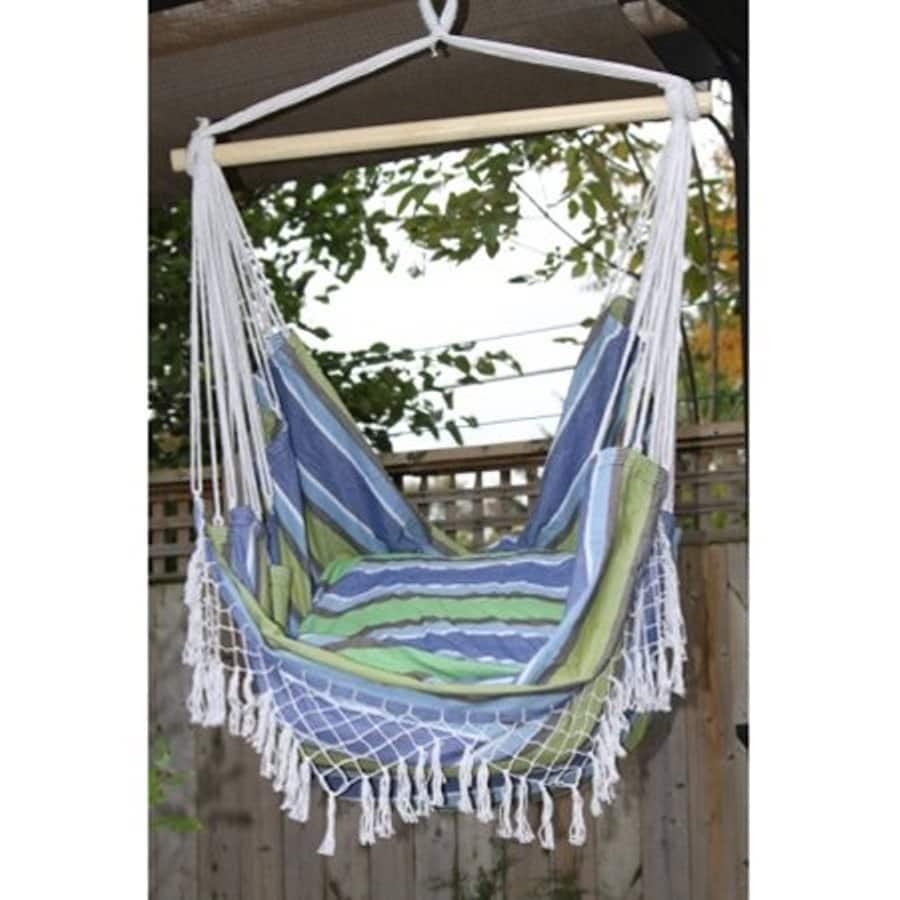 Vivere Brazilian Style Fabric Hammock Chair