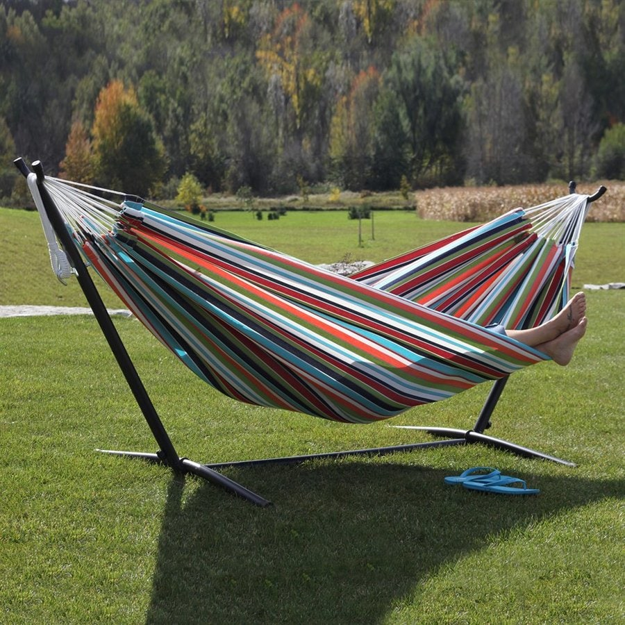 Vivere Carousel Confetti Fabric Hammock Stand Included