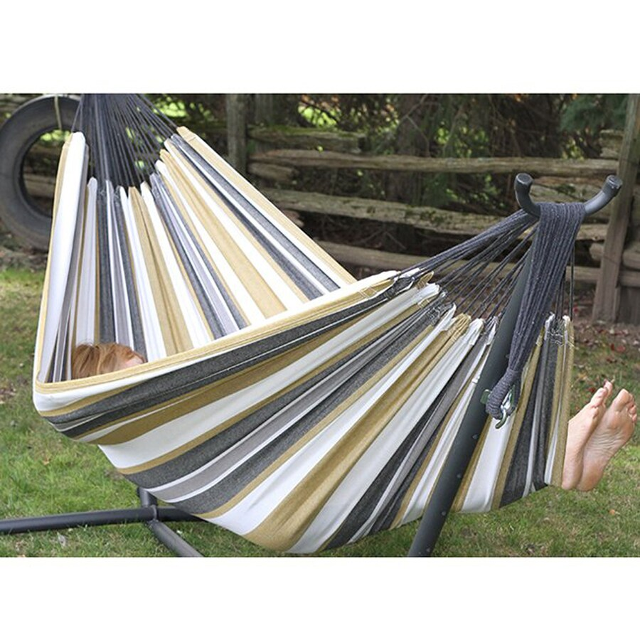 Vivere Desert Moon Fabric Hammock Stand Included