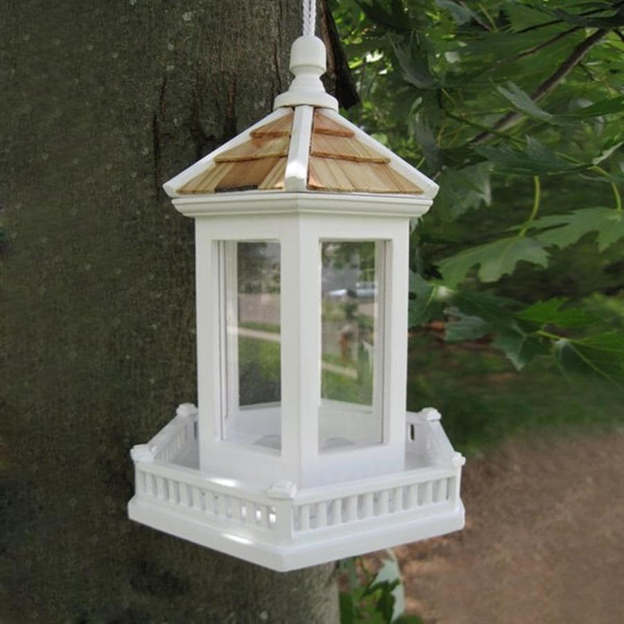 Home Bazaar Fledgling Wood Platform Bird Feeder