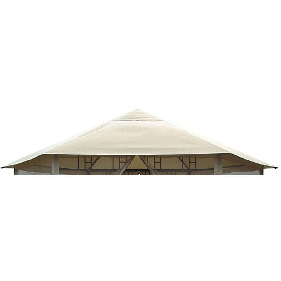 D.C. America Beige Replacement Canopy Top  sc 1 st  Loweu0027s : dc america gazebo canopy replacement - memphite.com