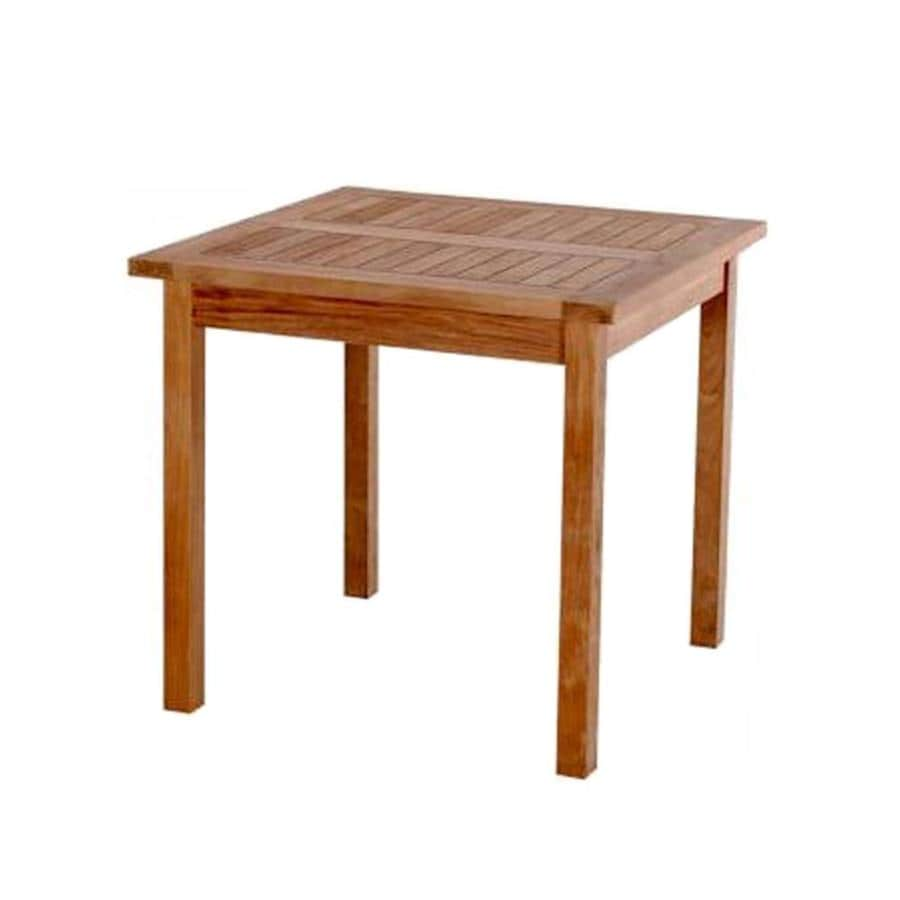 Anderson Teak Bahama 35-in W x 35-in L Square Teak Dining Table