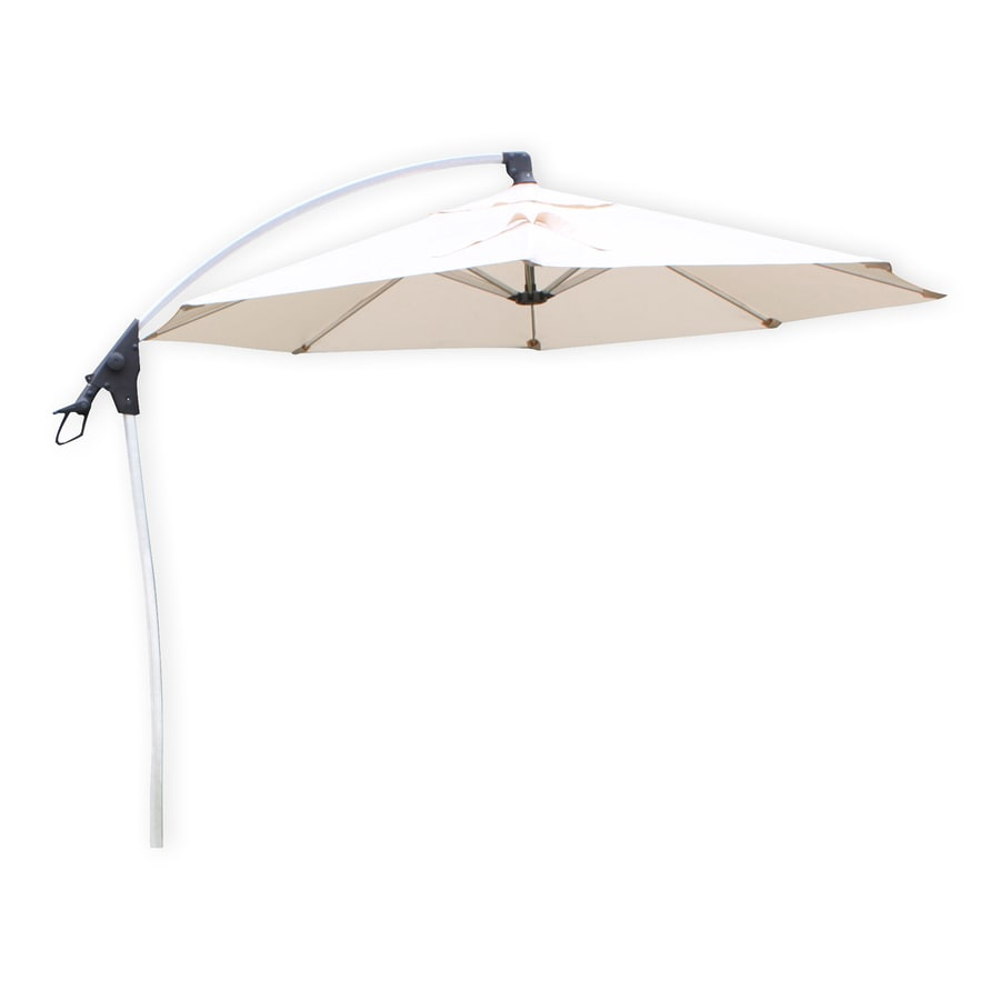 Shop D C America Beige Offset Patio Umbrella With Base