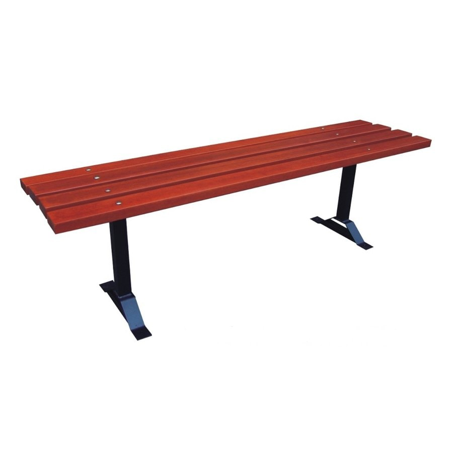 D.C. America 16-in W x 70-in L Red Patio Bench