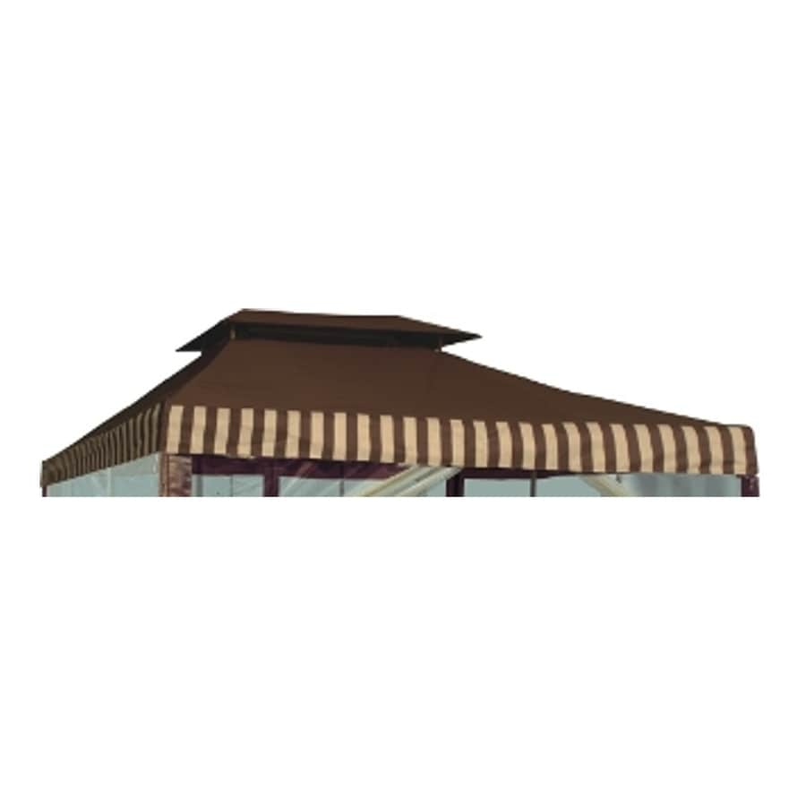 D.C. America Brown Replacement Canopy Top  sc 1 st  Loweu0027s : dc america gazebo canopy replacement - memphite.com