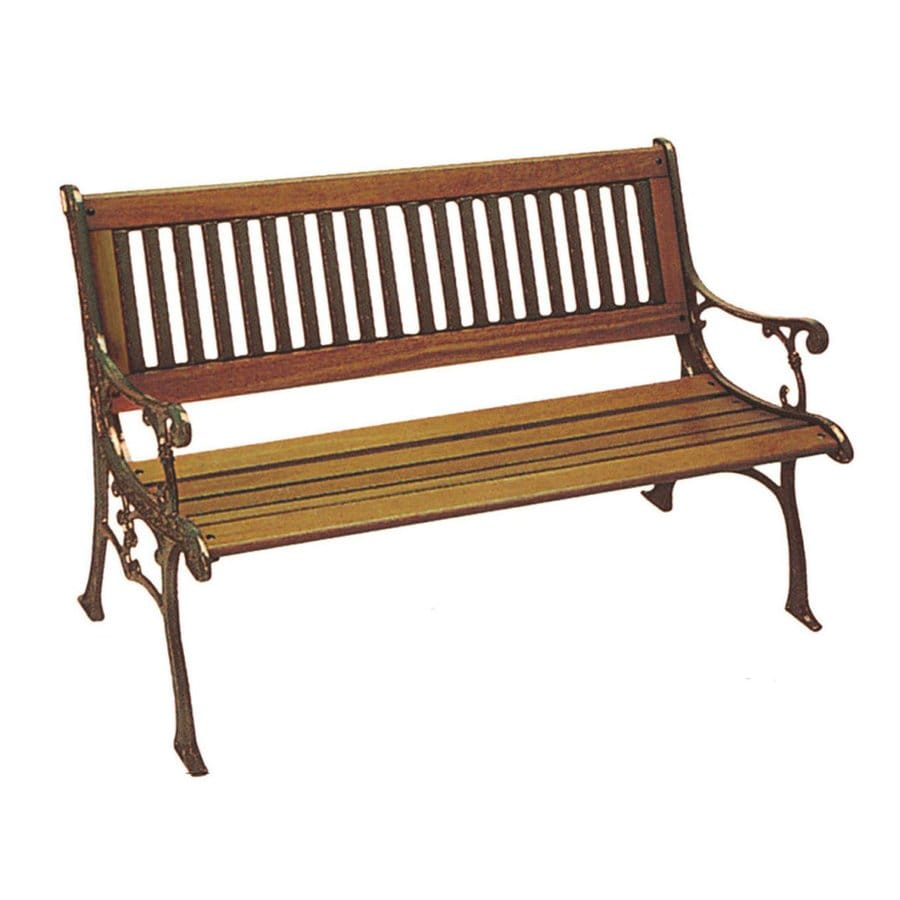 D.C. America 31.5-in W x 49-in L Bronze Patio Bench