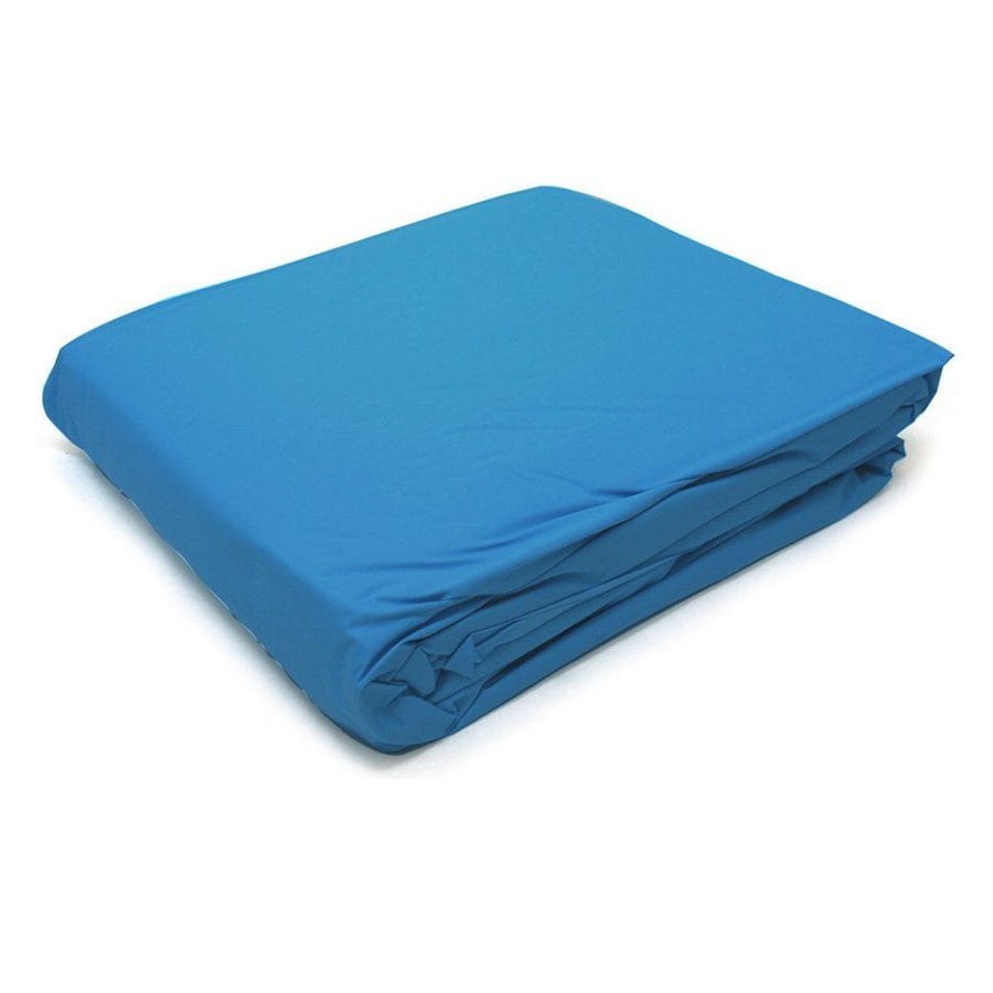Splash Pools 0.2-mils Blue Vinyl Pool Liner